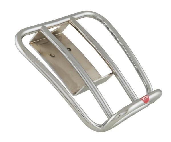 """Bagage drager achter """"70's"""" voor Vespa GTS/GTV/GT 125-300ccm 4T LC, chroom"""