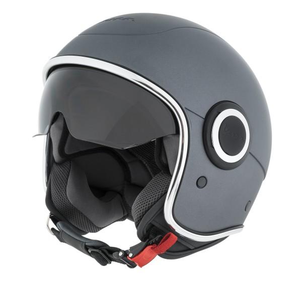 Vespa Helm Demi Jet VJ1 - grijs titan mat
