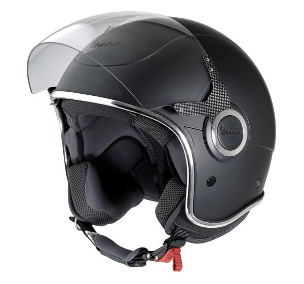 Vespa Helm Demi Jet VJ - mat zwart