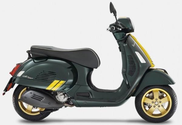 Decorset, Vespa GTS Racing Sixties - geel
