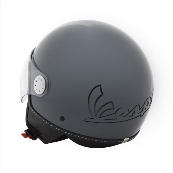 Vespa Helm Demi Jet Visor 3.0 - mat grijs