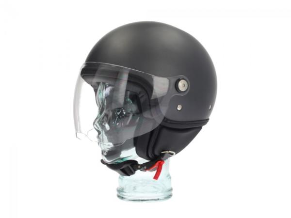 Piaggio P-Style Jet helm grijs 742/B