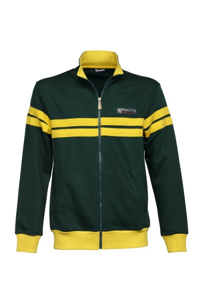 Vespa sweatjack, Racing Sixties 60s groen / geel