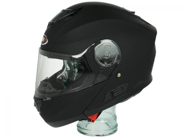 Shiro Flip Up Helm, SH507, zwart mat