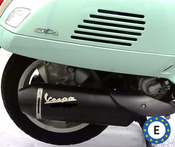 Originele Vespa sportuitlaat voor Vespa GTS / GTS Super / GTV 300ccm HPE (`20-) Euro 5