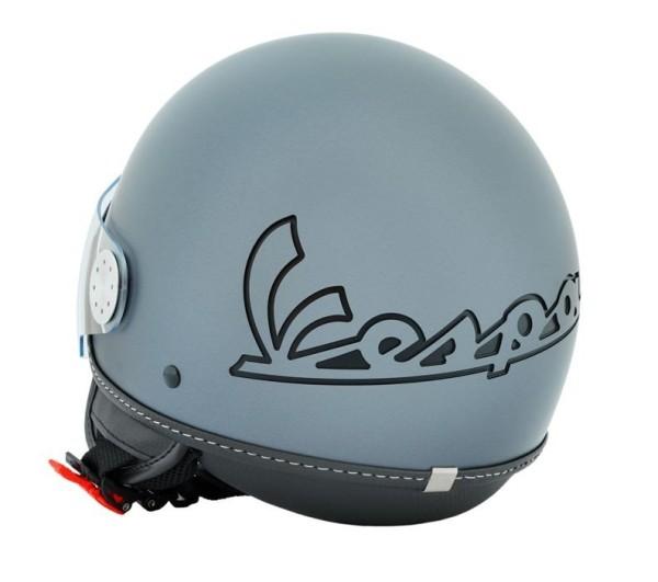 Vespa Helm Demi Jet Visor 3.0 - mat grijs titanium