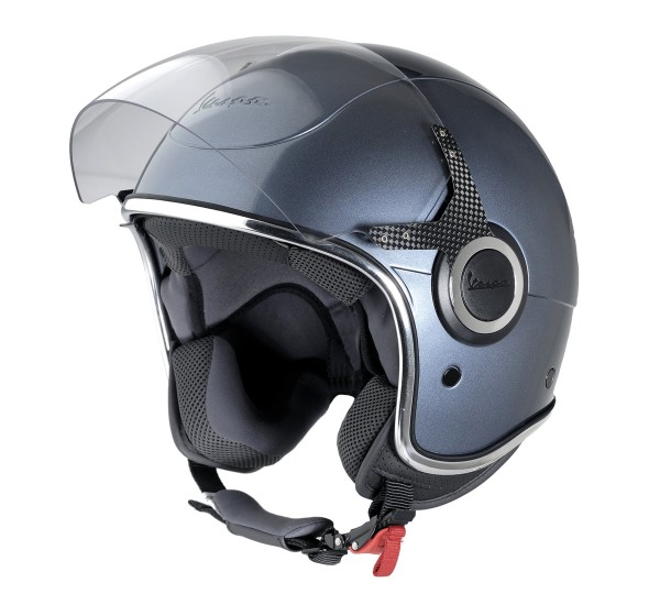 Vespa Helm Demi Jet VJ - grijs dolomiti