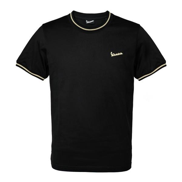 75 jaar - Vespa T-shirt zwart