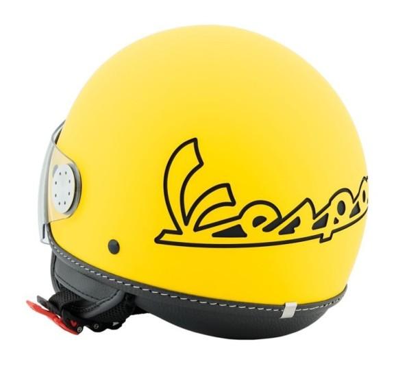 Vespa Helm Demi Jet Visor 3.0 - geel gelosia