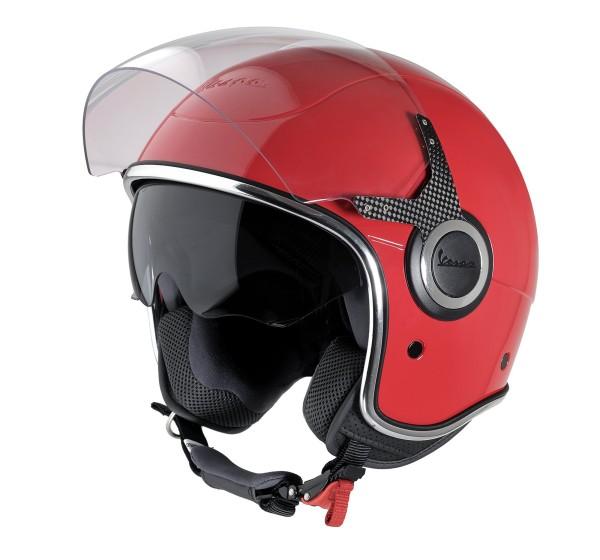 Vespa Helm Demi Jet VJ - rood