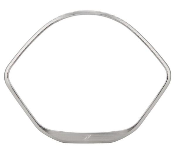 Sierring kilometerteller voor Vespa GTS/GTS Super/GT/GT L 125-300ccm (-'13), zilver