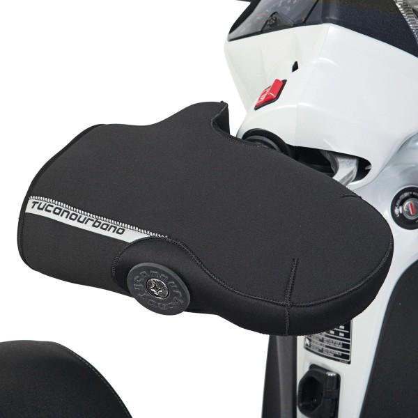 Stuurhandschoenen, voor Vespa GT / Vespa GTS, met beschermkap, zwart Tucano Urbano