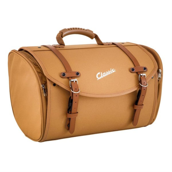 """Klassieke"" tas voor Vespa - bruin, nylon"