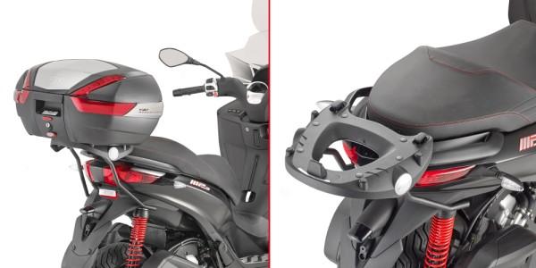 Topcase drager voor MONOKEY® topcase voor Piaggio MP3 Original Givi