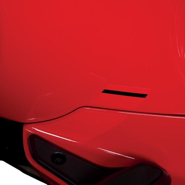 """Sticker """"Sport Allure"""" carbon look voor Vespa Sprint"""