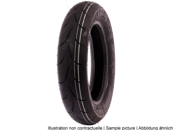 Mitas band 110/70-12, 53P, TL, MC34, Racing Super Soft, voor