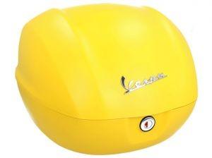 Original Topkoffer Vespa Sprint - mat geel / yellow jealousy / 974/A