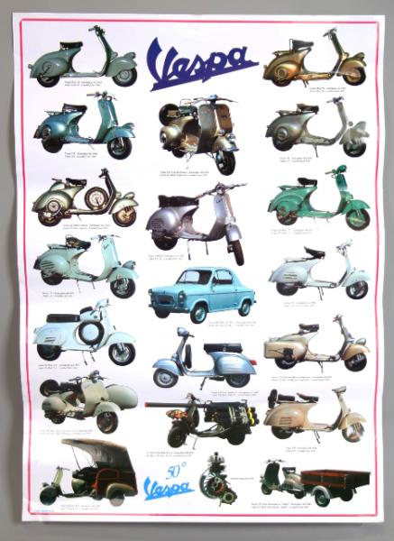 Vespa poster, Vespa 2e serie