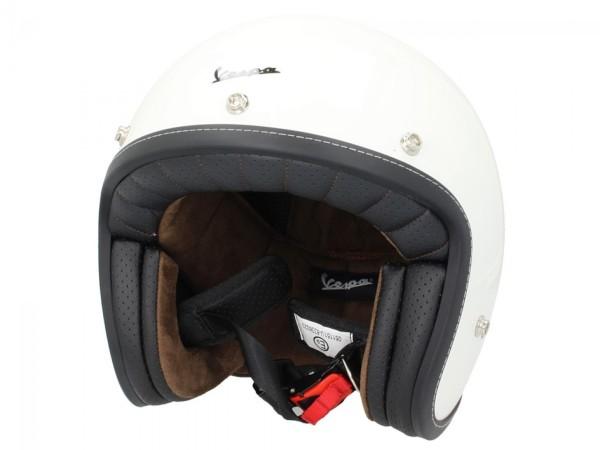 Vespa Helm Demi Jet P-Xential - wit