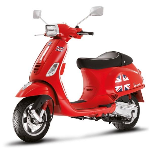 """Sticker Kit """"Vlag"""" Vespa S - Engeland / UK"""
