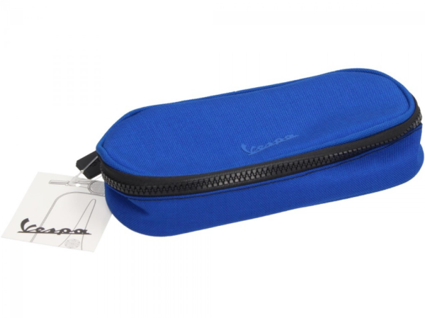 Vespa-potloodetui blauw