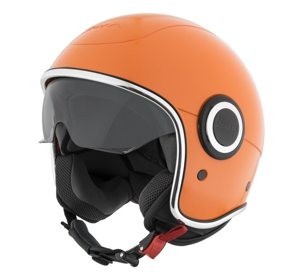 Vespa Helm Demi Jet VJ1 - orange tramonto