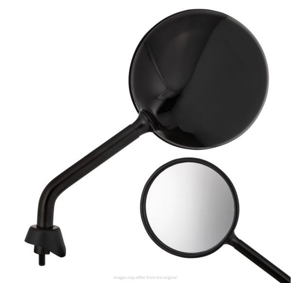 Spiegel Shorty, zwart glanzend, rechts en links voor Vespa GTS / GTS Super HPE 125/300 ('19-)