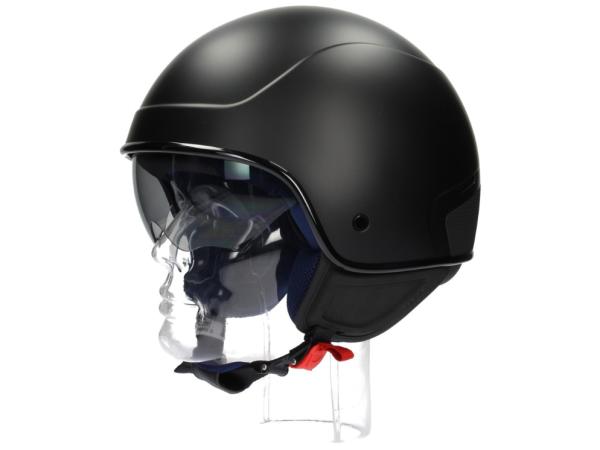 Piaggio PJ1 Jet helm zwart, mat