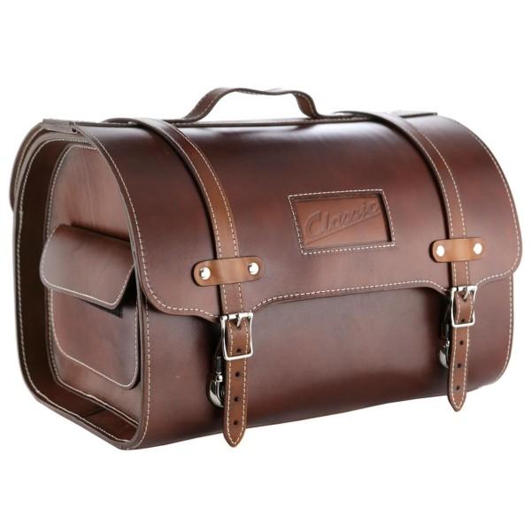 """Leren tas """"Classic"""" voor Vespa - bruin"""