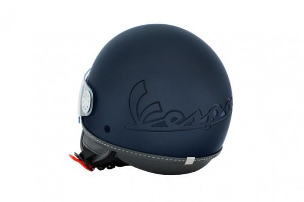 Vespa Helm Demi Jet Visor 3.0 - mat blauw