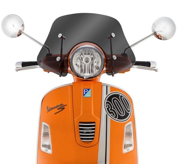 Flyscreen Piccolo voor Vespa GTS/GTS Super/GT/GT L 125-300ccm, getint