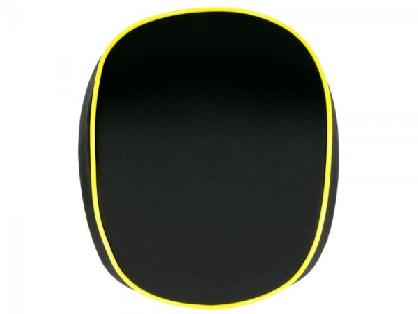 Original rug voor Topcase Vespa Elettrica giallo/yellow