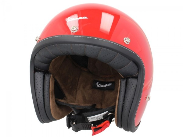 Vespa P-Xential 2.0 open helm - rood