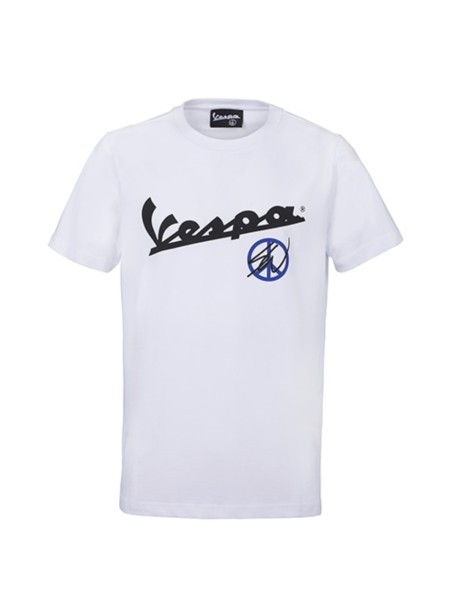 Sean Wotherspoon - Vespa T-Shirt wit