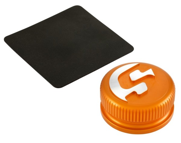 Tankdop voor Vespa, oranje mat