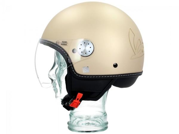 Vespa Helm Demi Jet Visor 3.0 - mat beige unico