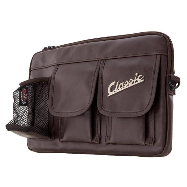 """Tas """"Classic"""" voor bagageruimte / handschoenenkastje Vespa - bruin, synthetisch leer"""