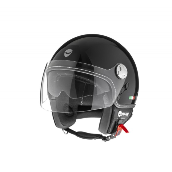 Helmo Milano Demi Jet, Eos, glanzend zwart