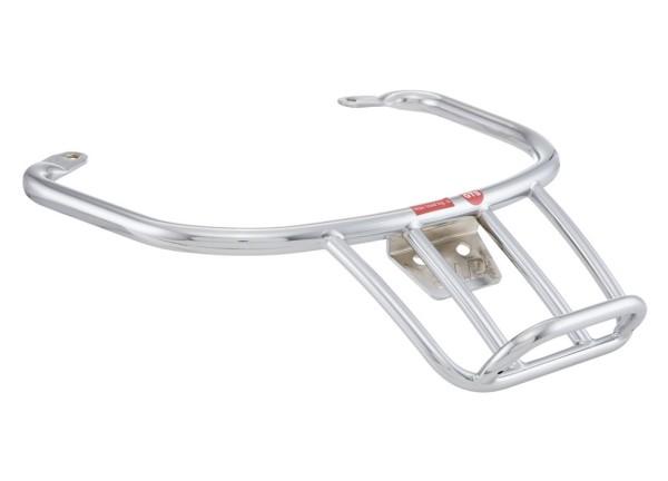 """Bagage drager / bevestigingsbeugel achter """"70's"""" voor Vespa GTS/GTV/GT 125-300ccm 4T LC, chroom"""