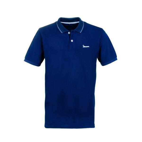 Vespa Graphic Polo man blauw