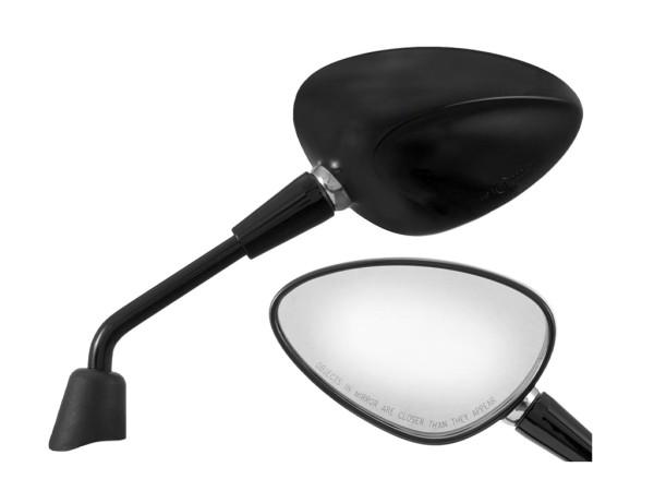 Spiegel Shorty zwart rechts en links voor Vespa Sprint 50-150ccm 2T / 4T