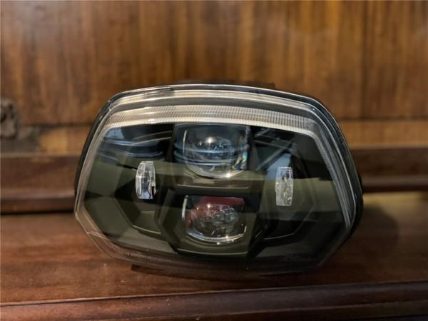 Koplamp LED Zelioni voor Vespa Sprint 50-150ccm 2T / 4T ('13 -'18) (met E-nummer)