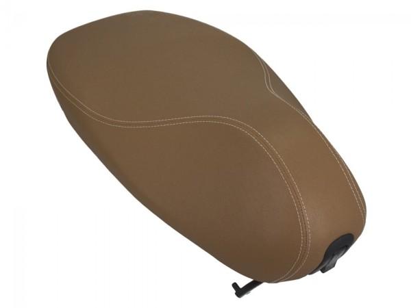 Originele Vespa seat voor Vespa Primavera / Sprint lichtbruin