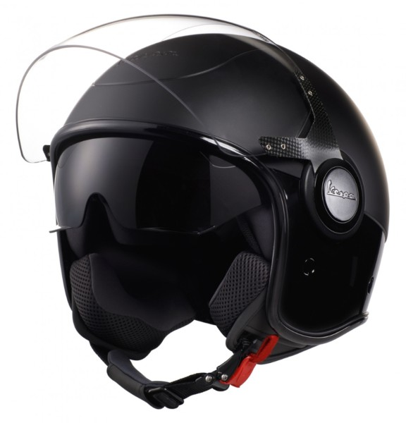 Vespa VJ Helm zwart / zwart