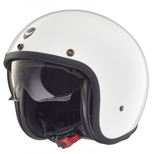 Helmo Milano jet-helm, Audace, wit