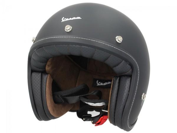 Vespa P-Xential 2.0 open helm - zwart mat