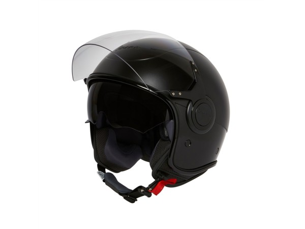 Vespa Helm Demi Jet VJ - mat zwart (Notte Edition)