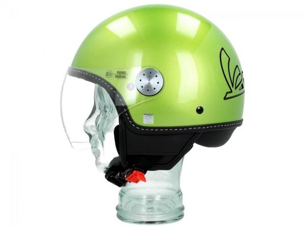 Vespa Helm Demi Jet Visor 3.0 - speranza groen