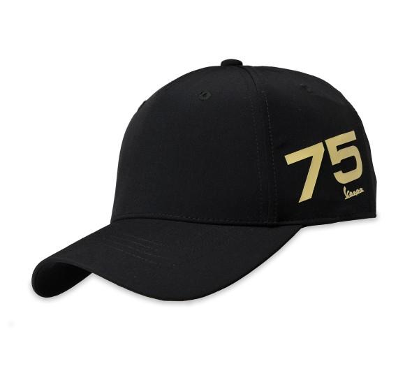Vespa Pet 75 jaar - zwart