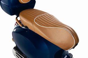 Luxury Line - Echt leer Sitzbank voor Vespa Primavera